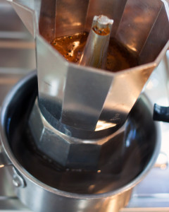 Moka Pot Coffee Espresso Latte Airstream