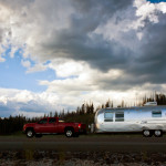 Yellowstone Lake Airstream