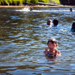 Firehole Swimming Hole in Yellowstone
