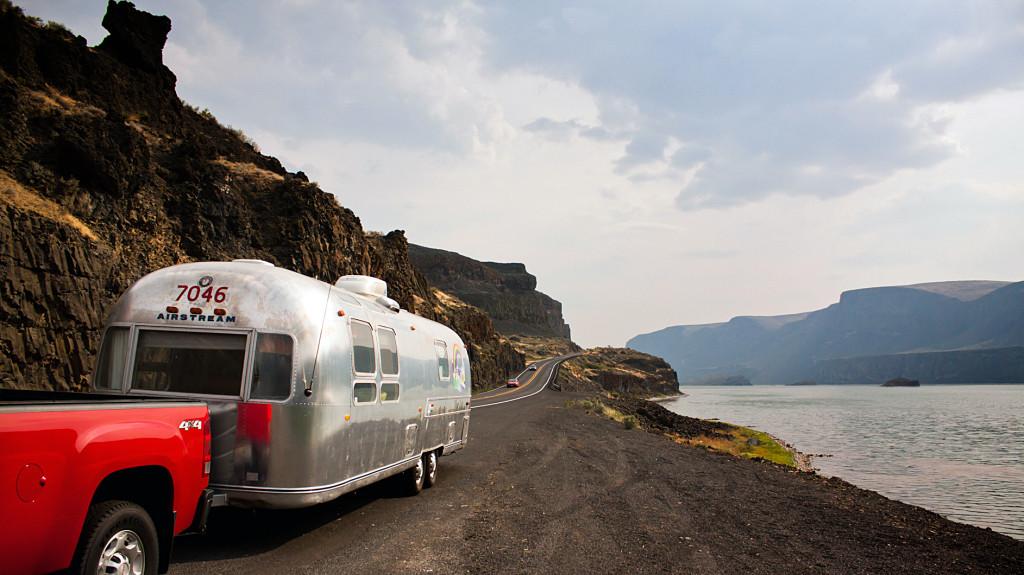 Airstream camping